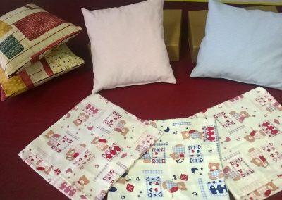 Textiltermék összeállító